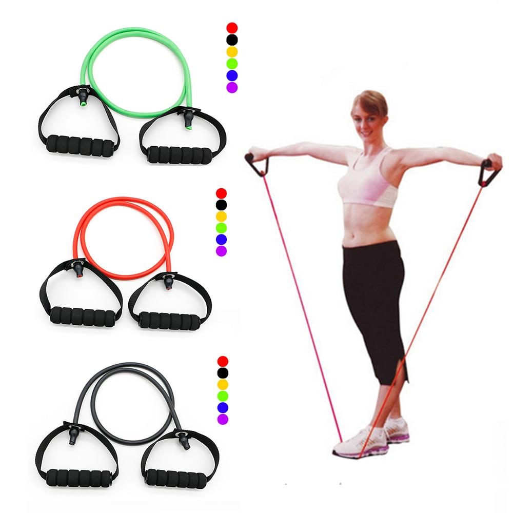 1 unidad Pro, nuevas bandas de resistencia de látex, ejercicios de yoga, crossfit, tubos para hacer ejercicio, cuerda de tracción, herramienta para hacer ejercicio