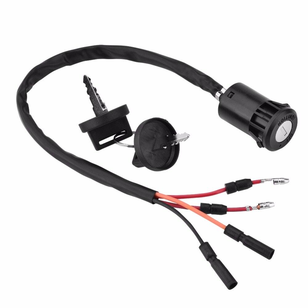1 conjunto Interruptor da Chave De Ignição Da Motocicleta ATV Montagem Para Honda TRX300 TRX300FW Fourtrax 1990-2000 Acessório Da Motocicleta Ignição Quente