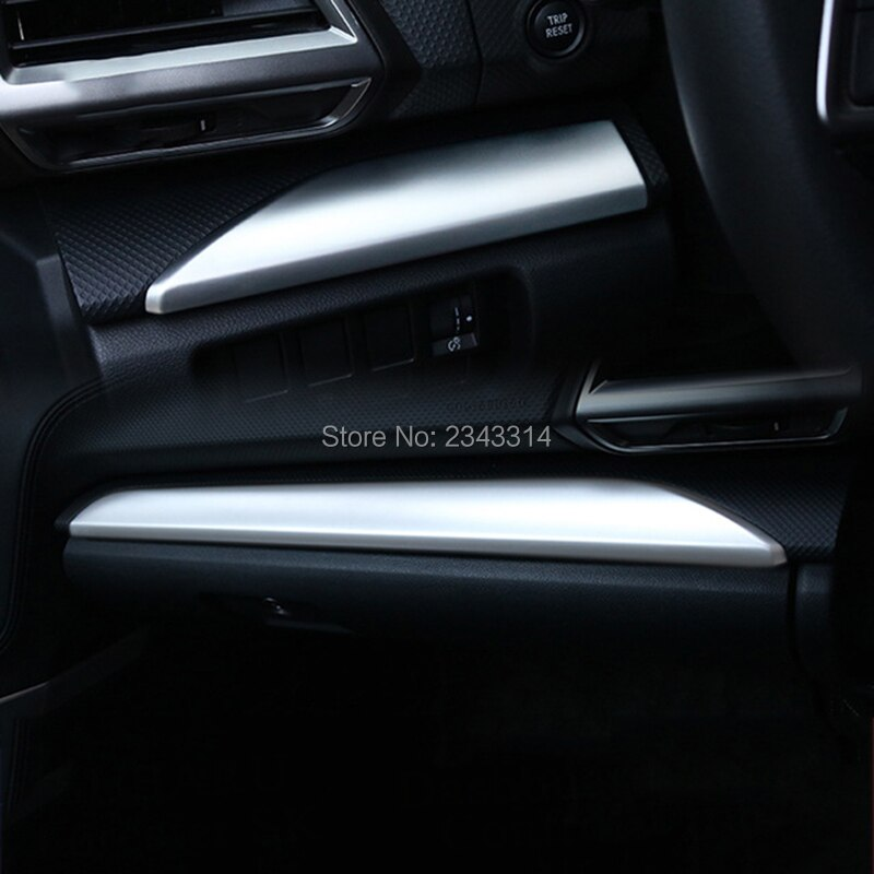 Para Subaru Forester SK 2018 2019 ABS tablero Interior decoración Control cubierta guarnición desgaste placa protectora accesorios de coche