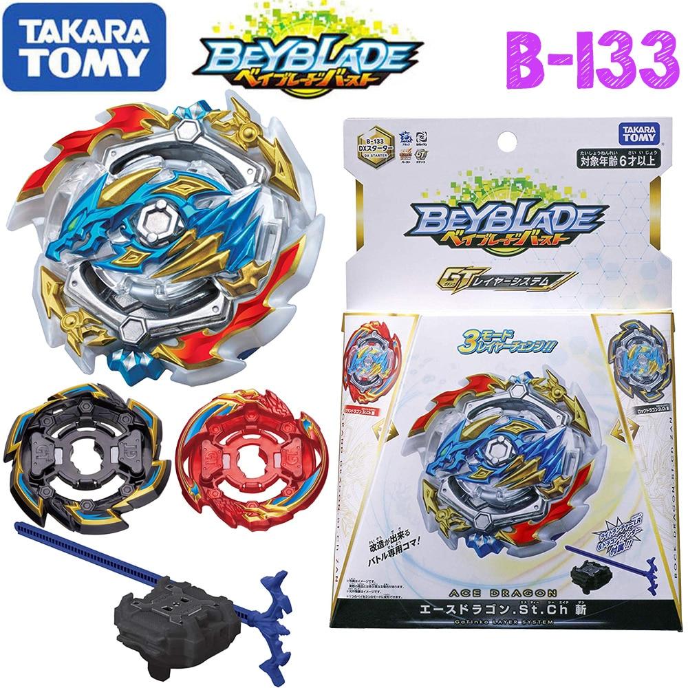 Takaratomy Beyblade burst B-133 B-134 B-135 Ace Dragon St Ch With Launcher Beyblade Burst Gyroscope Toys For Boy