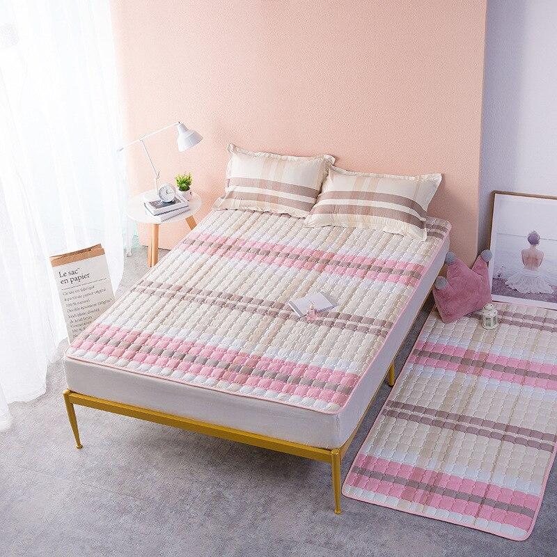 غطاء سرير الطفل المفارش لينة مبطن فراش توبر زلق مقاومة شتاء غطاء 120x200 150x200 180x200 200x220
