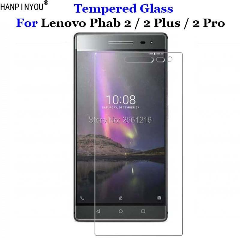 """Para Lenovo Phab2 de vidrio templado 9H 2.5D protector de pantalla premium película para Lenovo Phab 2 Plus Pro 6,4"""""""