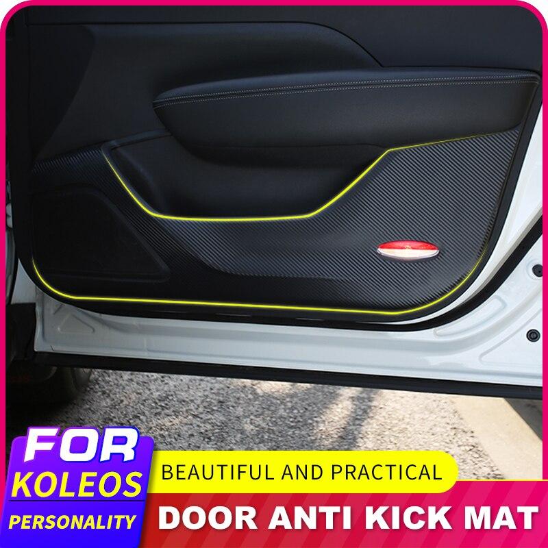 Анти-пинающая пленка двери автомобиля анти подушки для ударов для Renault Koleos для Samsung QM6 2017 2018 аксессуары