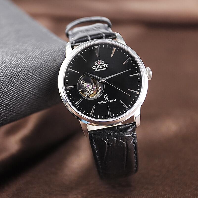 ORIENT Automatic leather strap Men's Watch Made in JAPAN watch Fashion business waterproof watch  Men's Wrist Watch