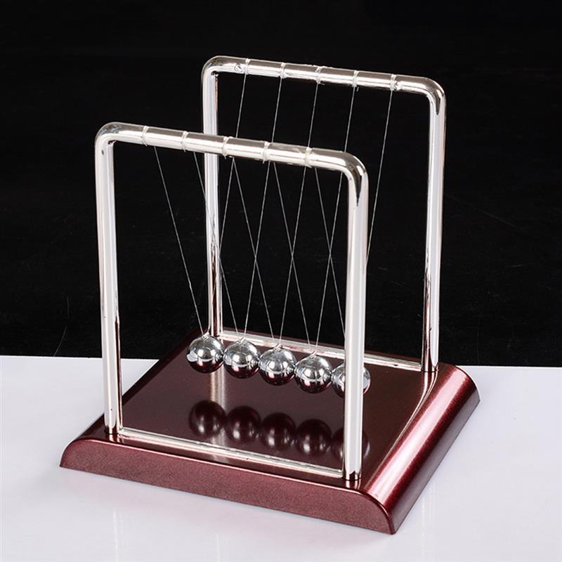 Newton Cradle Balance Steel Balls School Teaching Supplies Physics Science Pendulum Desk Toy Gifts Home Decoration