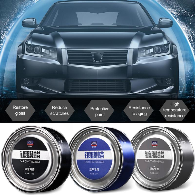 Descontaminación de coches belleza revestimiento de arañazos cera Color especial de coche Reparación de cinco colores belleza coche cera de cristal