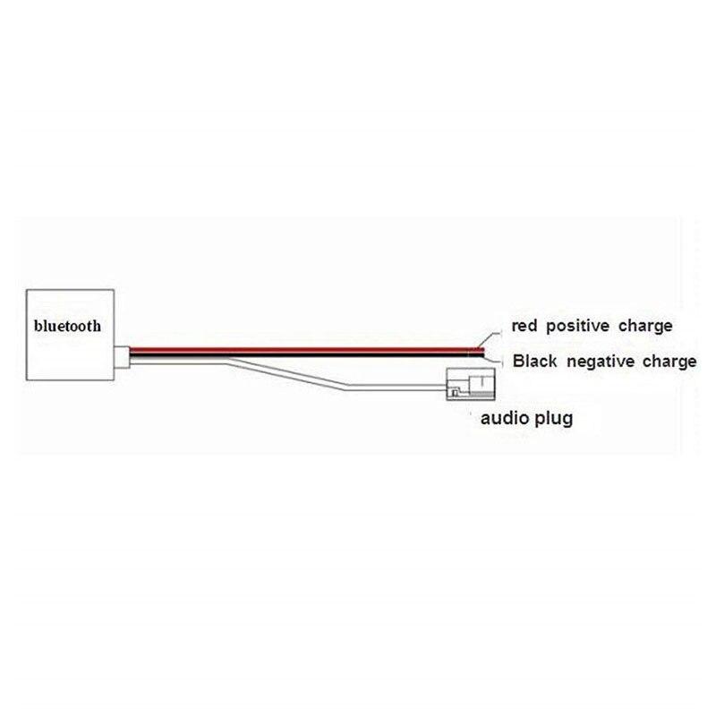 Bluetooth adaptador de Cable AUX para Mercedes Comand 2,0 APS 220 W211 W208 y W168 de Audio