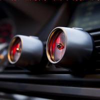 Alloy Auto Fragrance Car Air Freshener Outlet Vent Clip Car Air Freshener Led Atmosphere Lights Fragrance Parfum Voiture 1 Pcs