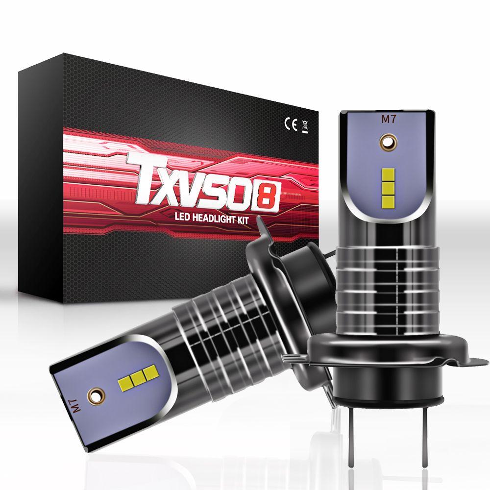 M7 H7 110W 30000Lm LED Conversión de faros de coche globos Canbus bombillas haz 6000K Kit
