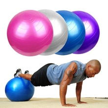 Workout Massage Gymnastic Smooth Ball Fitness Equipments 4 Size Pilates Yoga Balls Gym Balance Exercise Fitness Ball Pilates