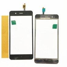Panel táctil de teléfono móvil para BQ BQ-5044 BQS-5044 BQ 5044 BQS 5044 Stricke pantalla táctil LTE cristal digitalizador con sensor táctil