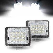 Lampe de numéro de plaque dimmatriculation LED pour Mercedes Benz W204 W221 W212 W216 W207 classe E coupé etc.
