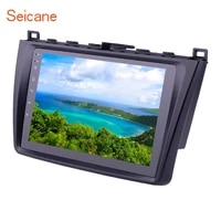 seicane android 10 0 2din 9 inch car radio with bluetooth gps navigation fm wifi for 2008 2009 2010 2011 2015 mazda 6 rui wing