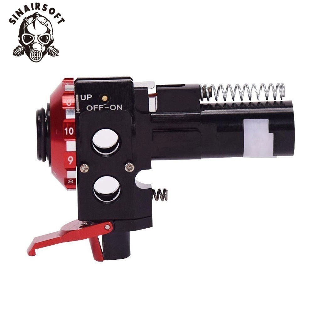 Tactical PRO AEG CNC Aluminum Red Hop Up Chamber For M4 M16 Airsoft Hunting Accessories Paintball Target Shooting Free Shipping