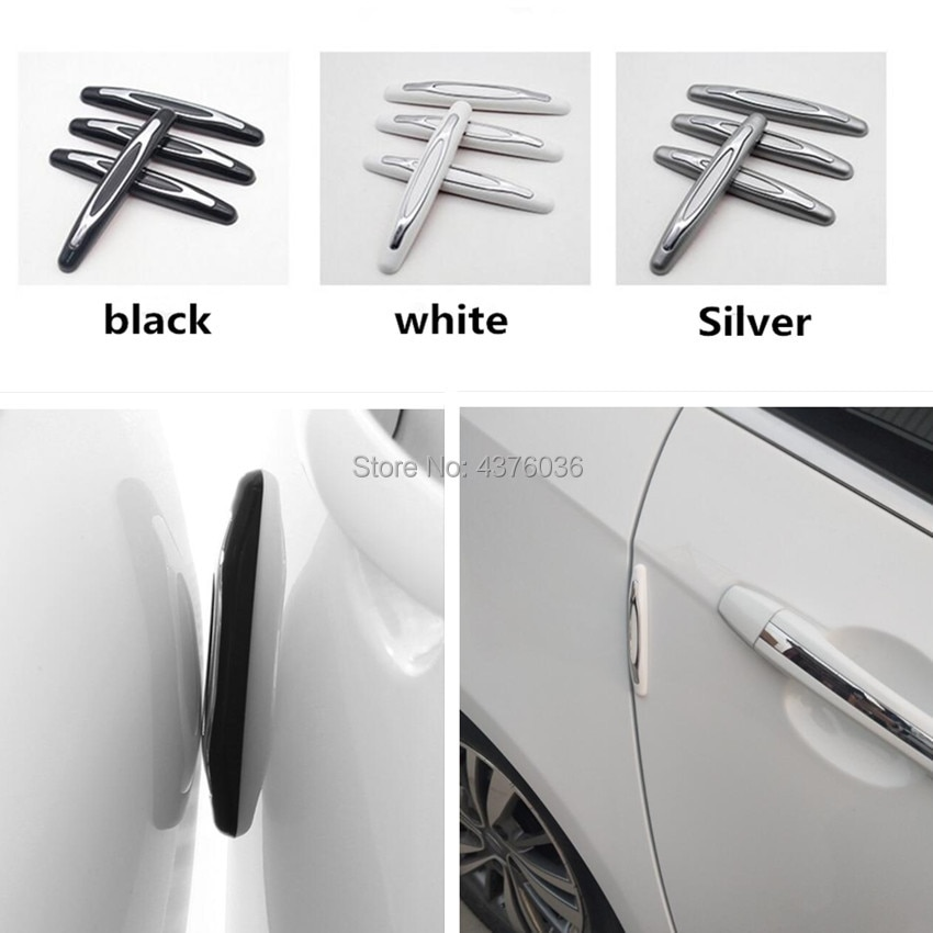 Car Styling Bumper Protective Strip for Volkswagen Polo Golf 4 6 5 7  POLO Passat B5 B6 B7 tiguan touran  Accessories