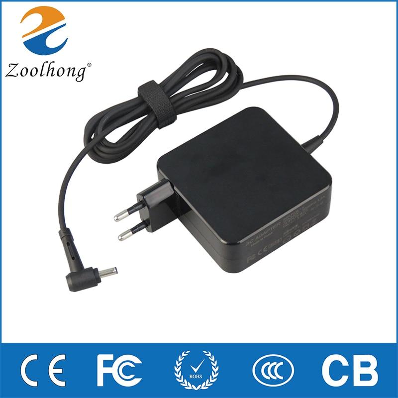 Para asus 19 v 3.42a 65 w 4.0*1.35mm ac portátil adaptador de energia carregador de viagem para asus zenbook ux310ua ux305c ux305c ux305ua ux305f
