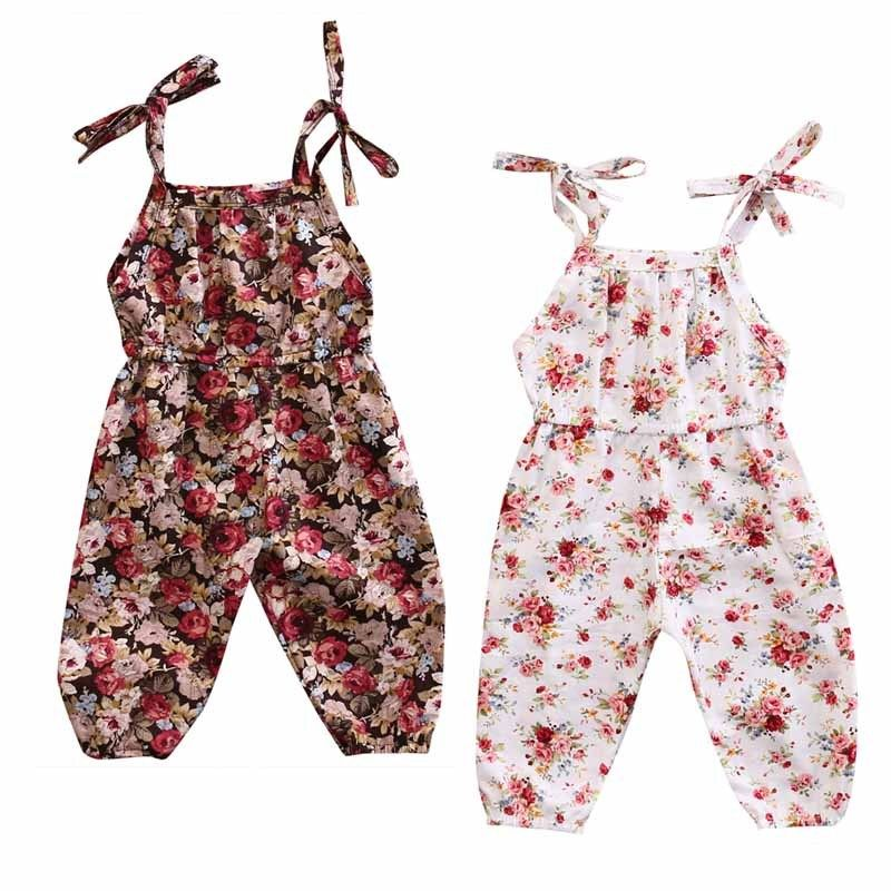 Pudcoco Girl Clothes Infant Baby Kids Girl Floral Romper Jumpsuit Playsuit Sunsuit Outfits Clothes