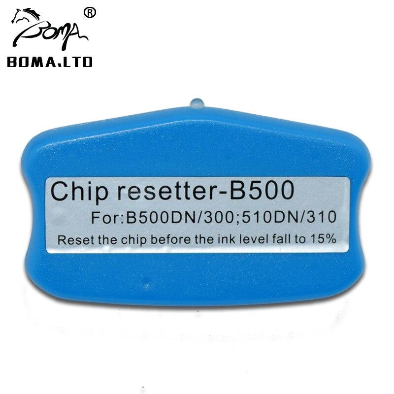 T616 T617 خرطوشة رقاقة ريسيتر لإبسون B500 B300 B510DN B310 B518 B318 B508 B308 الأصلي خرطوشة T6161 T6171