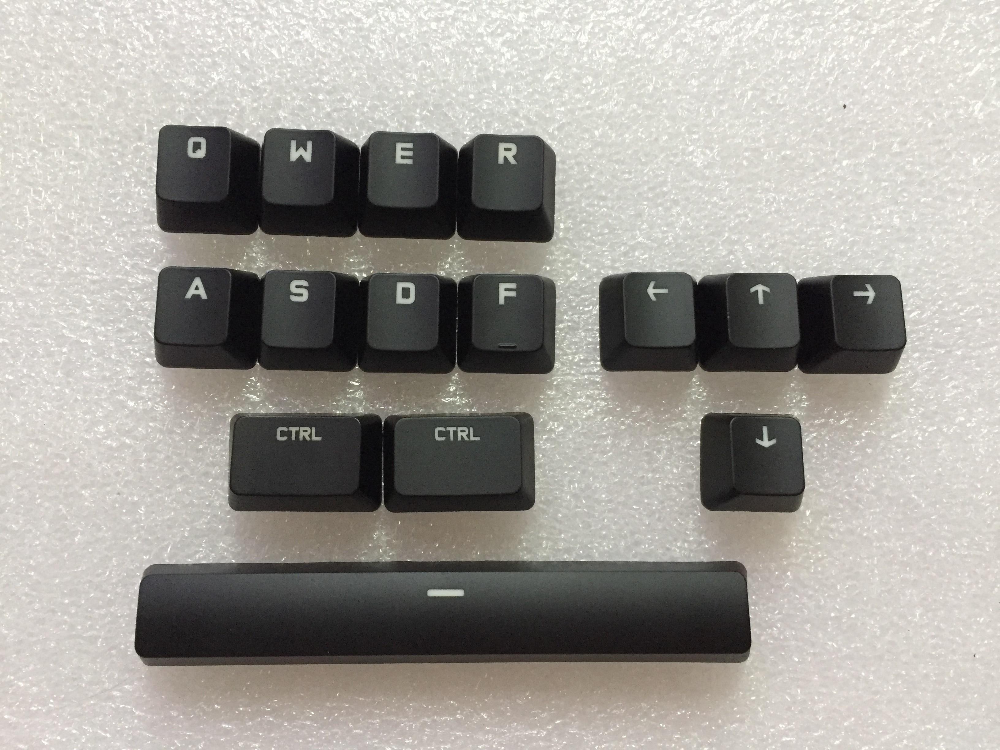 Tapas de teclas originales CTRL ALT TAB SPACE SHIFT para teclado mecánico logitech G610 tapa de llave con tirador de tapa de llave gratis