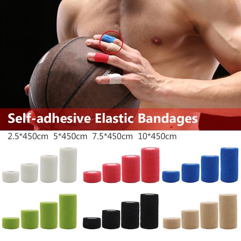 Hot Sale Sports Protection Elastic Bandage Nonwoven Fabric Self-Adhesive Elastic Bandage Should Be Uniform Color Incision Neat