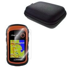 Transparent LCD écran protecteur couverture Film peau + étui de protection Portable sac pour randonnée Portable GPS eTrex 10 20 30 eTrex 10x 20x 30x