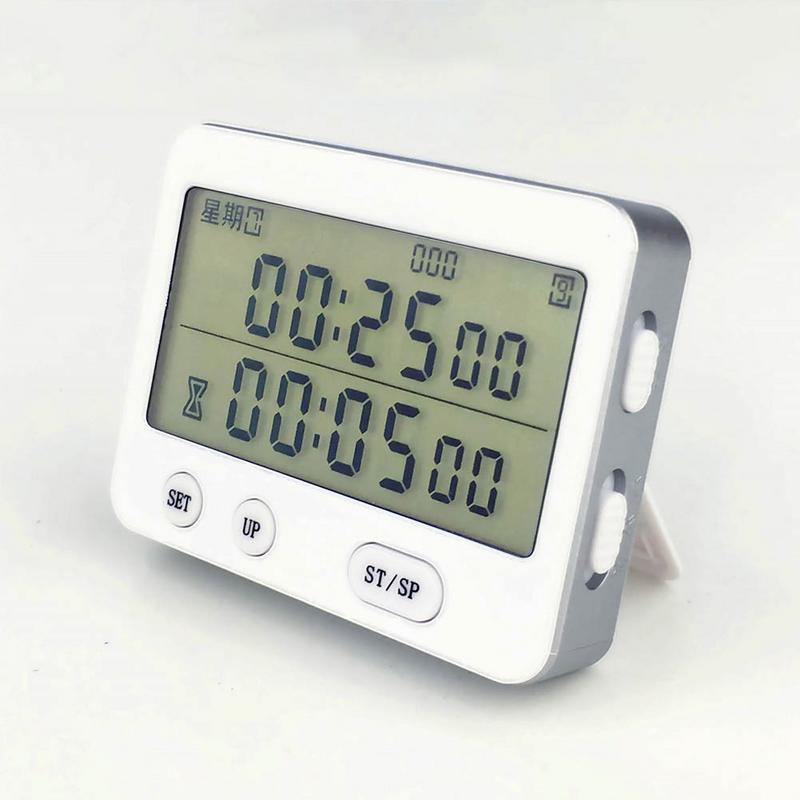 Yishi YS-255 Dual Screen Display Timer Wecker Tomaten Timer Stille Vibration 99 Stunde Timer cronometro digitale minuteur
