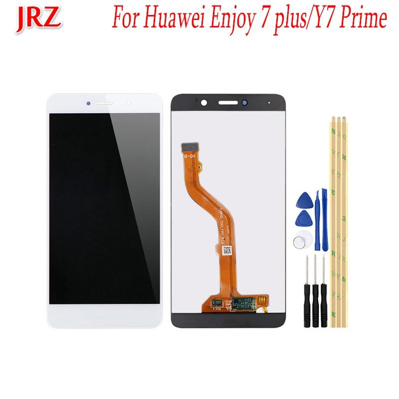 Para Huawei Enjoy 7 plus pantalla LCD y pantalla táctil 5,5 Montaje del digitalizador de pantalla reemplazo con herramientas para Huawei Y7 Prime