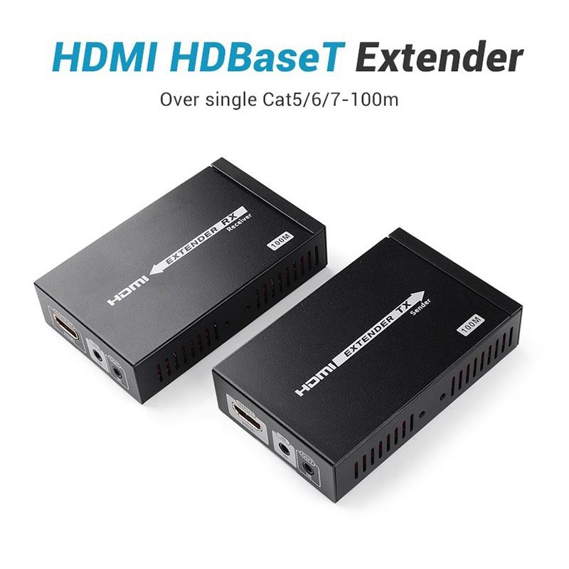 Lenkeng LKV375-100 HDbaseT موسع HDBaseT شبكة واحدة كابل موسع ينقل HD إشارة يصل إلى 100 متر فوق cat6 بطلاقة