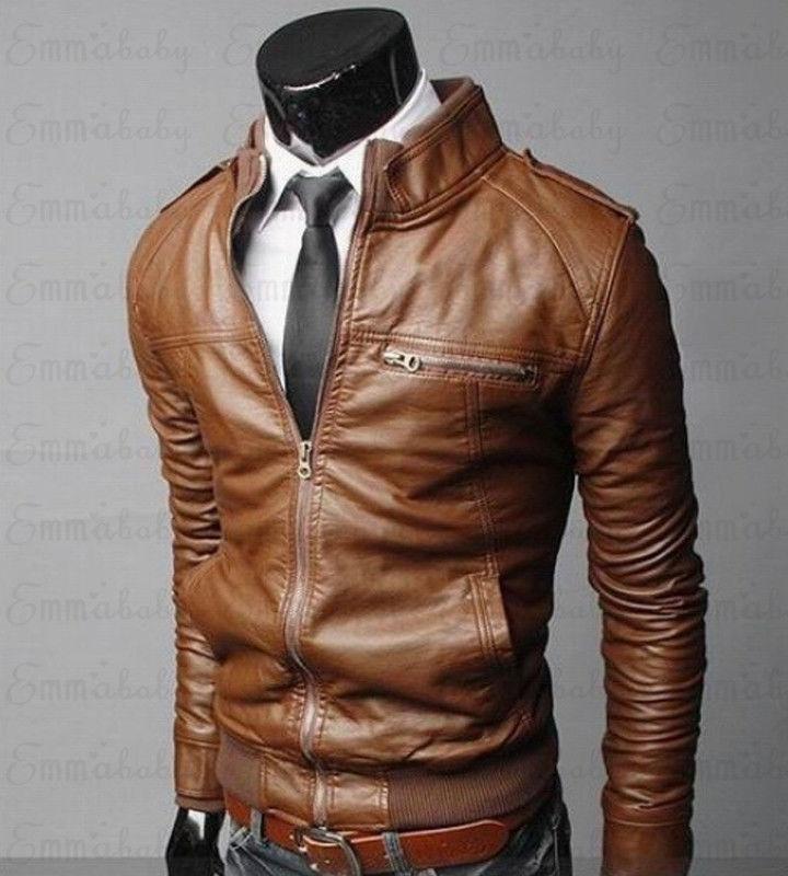 Мужские кожаные куртки, мужская куртка, высококачественные классические мотоциклетные байкерские ковбойские куртки, мужские толстые паль...