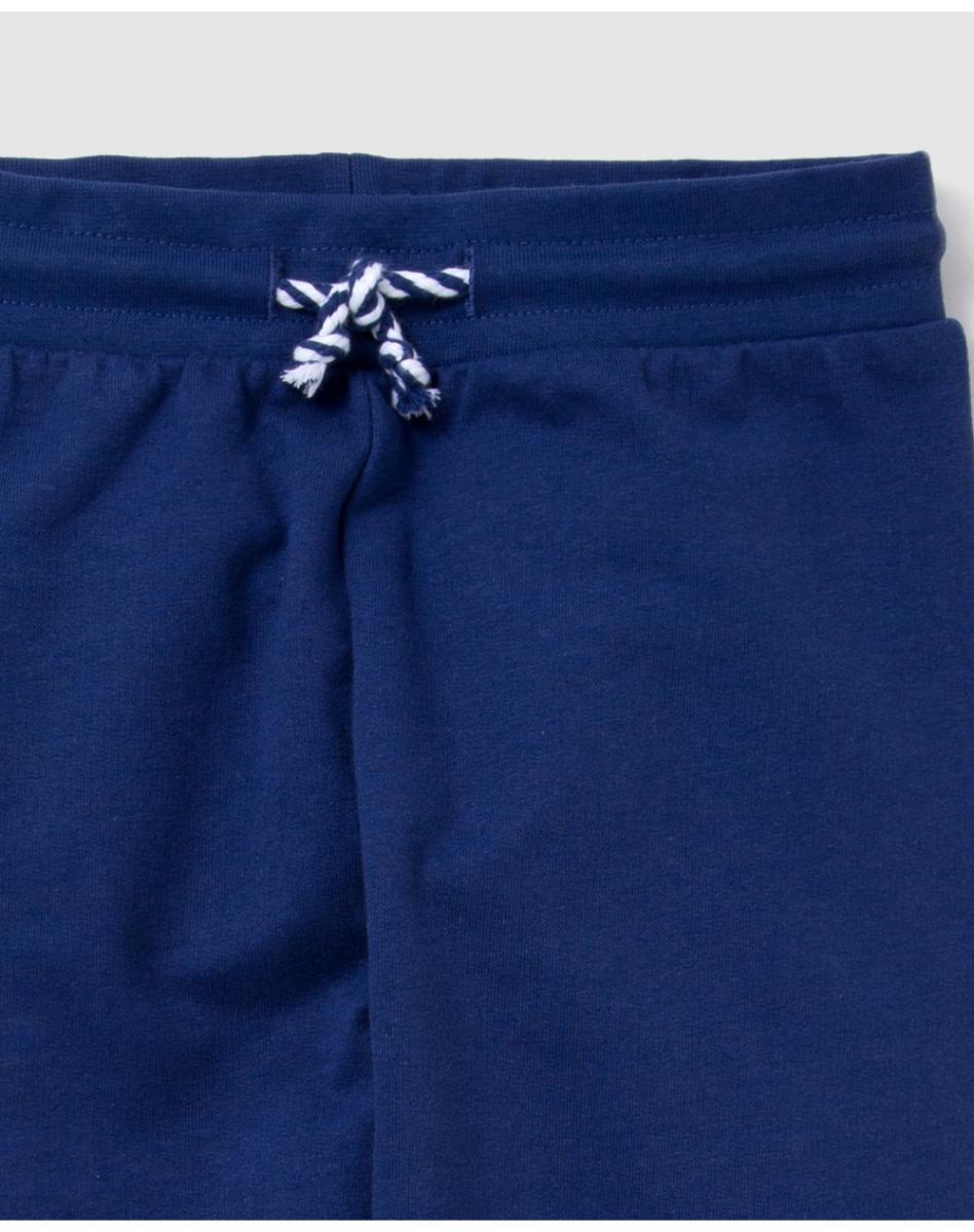 Спортивные штаны для девочек в синем стиле Беговые трико   