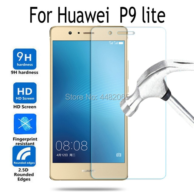 Tempered Glass For Huawei P9 lite Screen Protector 9H Toughened Protective Film For Huawei P 9 lite