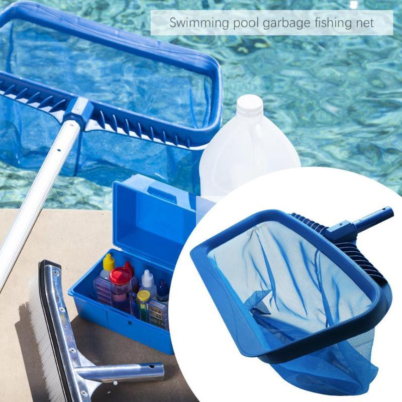 Leaf Skimmer Swimming Pools Skimmer Net Pool Net Rubbish Cleaning Rake Leaf Mesh Deep Bag Net Swimming Pool Accessories