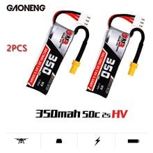 Gaoneng GNB 350mAh 2S 7.6V 50C/100C Lipo Battery with XT30 Plug for Fpv Racing Drone