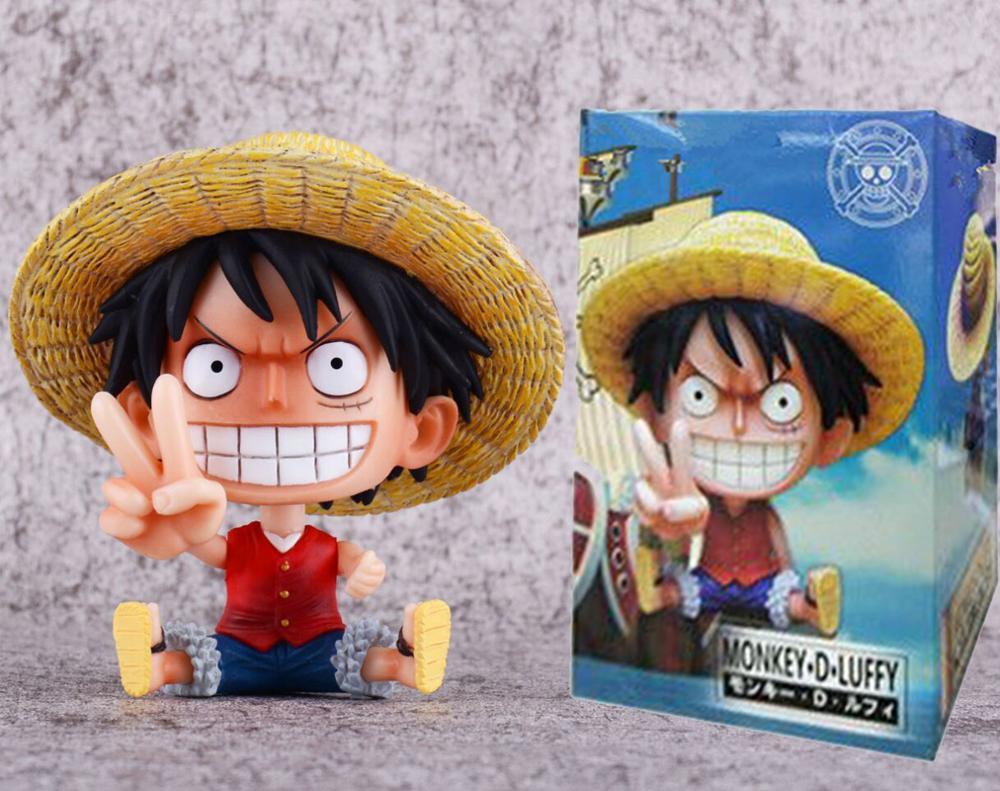 Anime One Piece figura Brinquedos One Piece confiante Straw Hat Luffy pvc toy figuras frete grátis