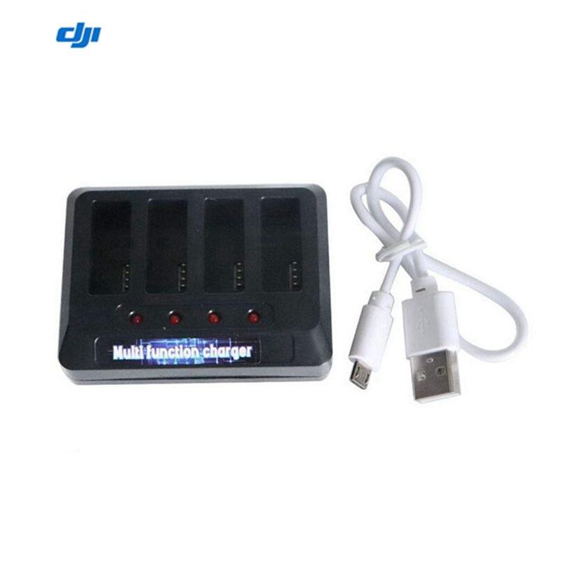 4-em-1 equilíbrio usb carregador de bateria de lítio hub de carregamento rápido para dji ryze tello rc drone