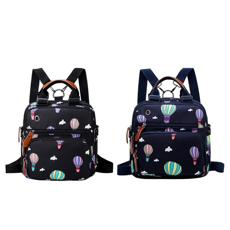 Сумка для подгузников с принтом воздушного шара, водонепроницаемый рюкзак для беременных и детей, водонепроницаемая сумка для ухода за ребенком, дорожная сумка, bolsa maternidade