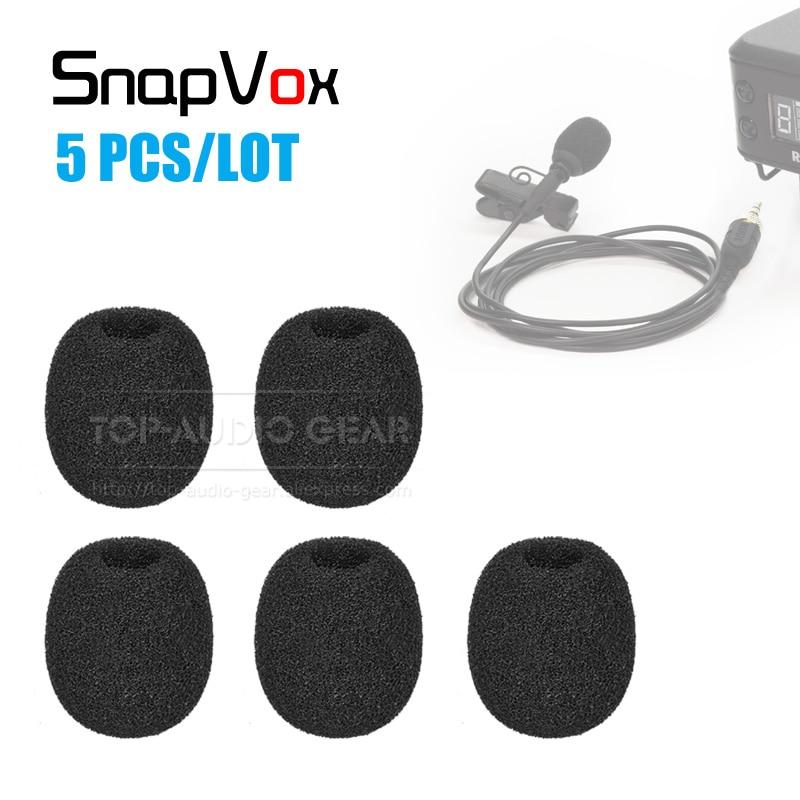 Parabrisas esponja de micrófono Microfone Microfono espuma a prueba de viento filtro Pop para Rode SmartLav + Smart Lav + cubierta de micrófono de parabrisas