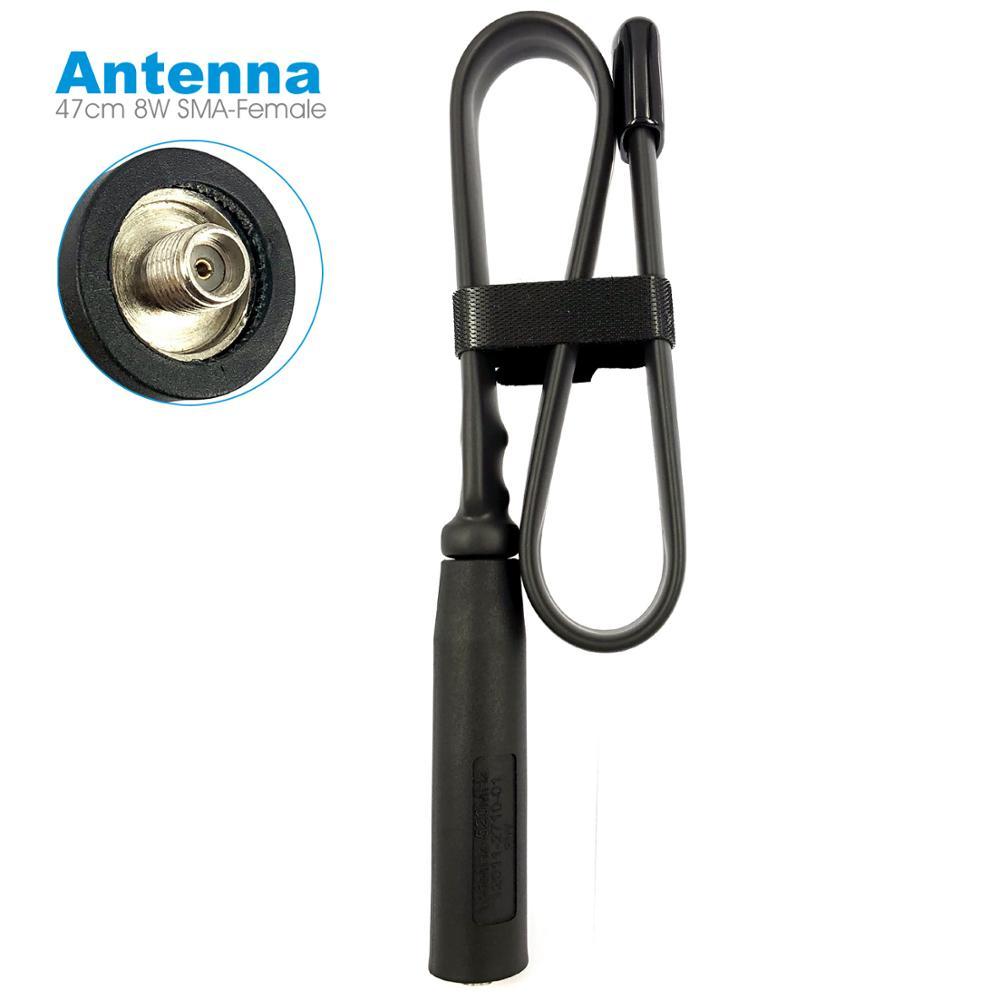 Couteau Tactique pliant Antenne SMA-F Femelle Pour Baofeng UV-5R UV-82 Kenwood Hyt Radio 47 cm VHF UHF 136-520 MHz 8 W Antenne Talkie-walkie