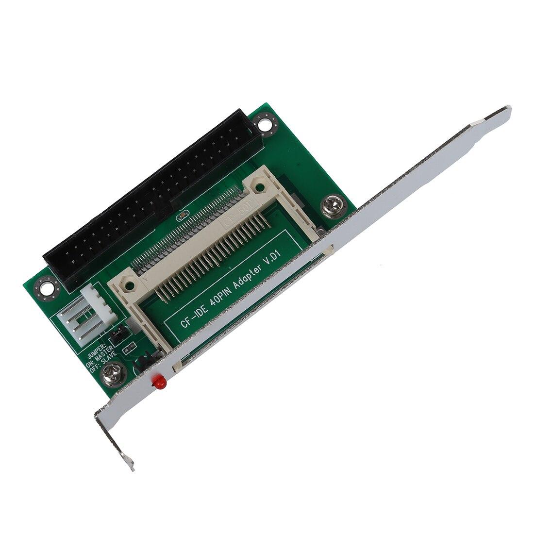 """CF tarjeta Flash a 40 pines IDE 3,5 """"adaptador macho convertidor w soporte de montaje"""