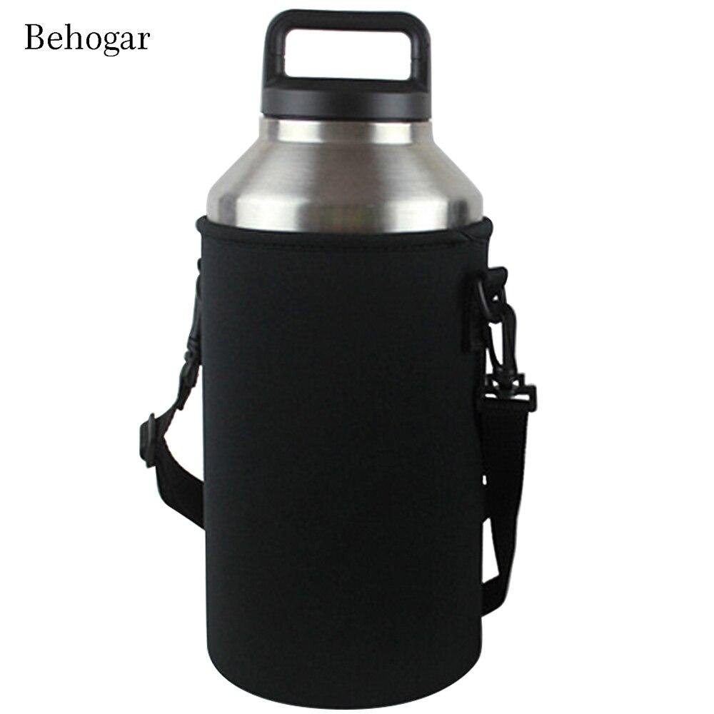 Garrafa de Água Titular Saco Caso Behogar Transportadora Luva Covers Garrafa Isolados Bag Bolsa Titular com Alça para Yeti 18/ 36/64 oz