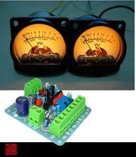 Dykb 2 Stuks Panel Vu Meter Header Warm Back Light Recording & Db Audio Niveau Eindversterker Indicator + Driver board