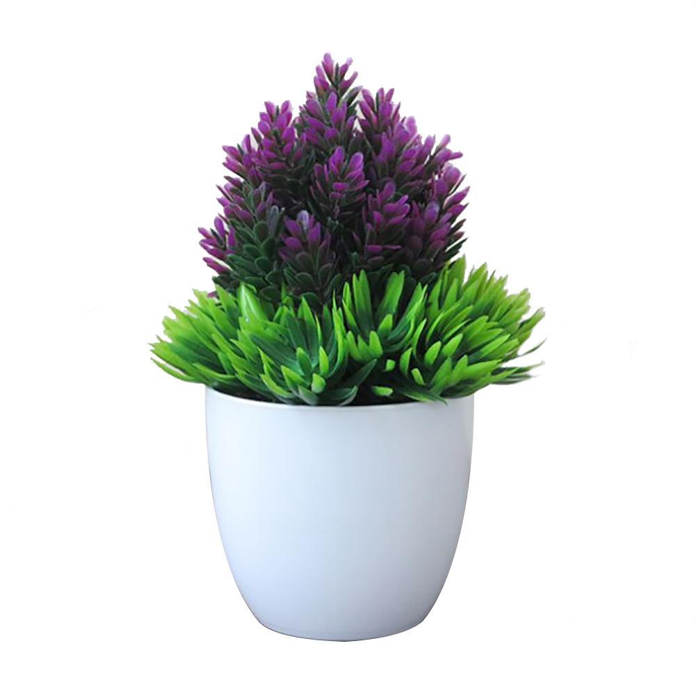 Hermosa simulación flor falso planta jardín hecho a mano hogar Decoración flor Artificial de aguja de pino de piña de plástico