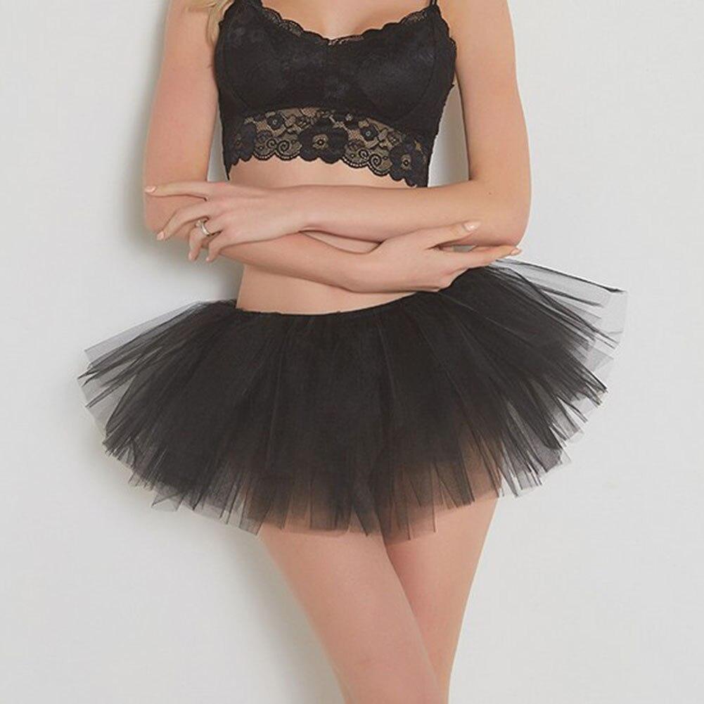Frauen Traumhafte Erwachsene Phantasie Ballett Dancewear Tutu Pettiskirt mini rock abend party Röcke Frauen Tanz Fee Tüll Rock