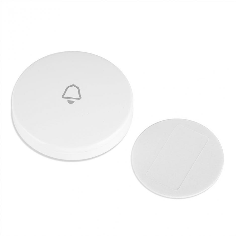 Nuevo botón de timbre inalámbrico de 433MHz para sistema de alarma de seguridad para el hogar Hardware para seguridad WDB08