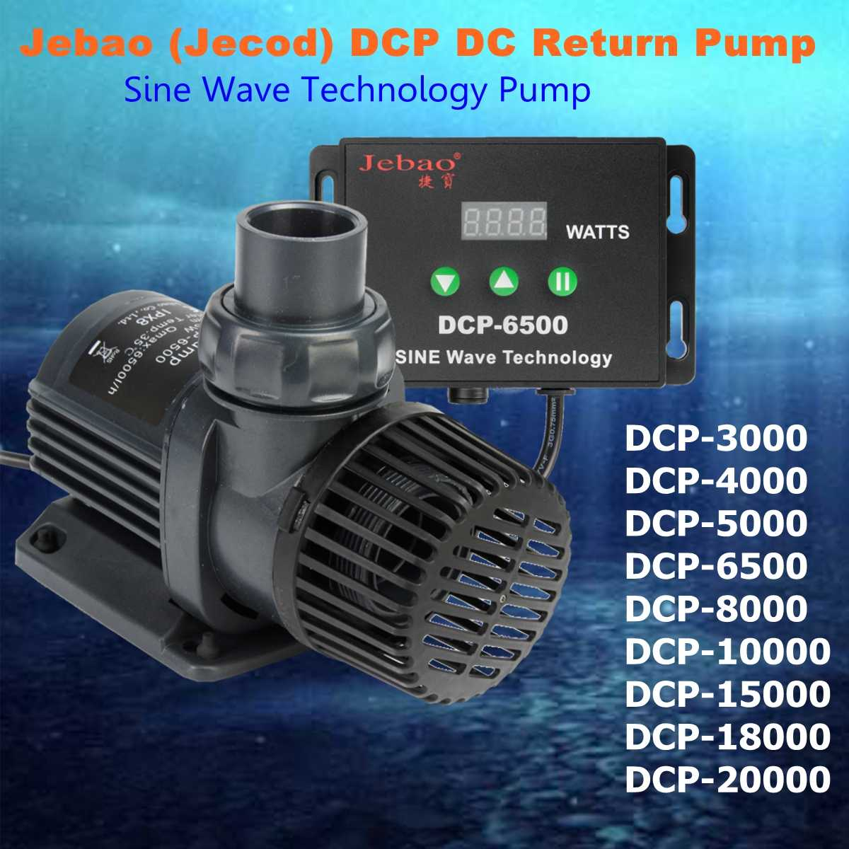 Jebao/Jecod serie DCP 3500-20000 Maring flujo DC Sine Wave Return bomba de agua SUMERGIBLE