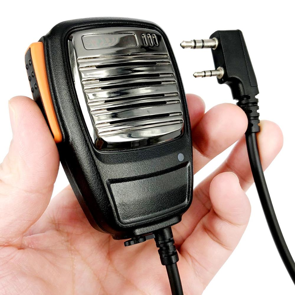 Динамик микрофон для Baofeng UV-5R BF-888S UV5R GT-3TP Kenwood TK3107 TK3207 PUXING PX-777 Радио Walkie Talkie Ручной микрофон