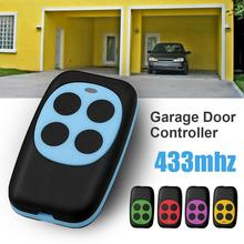 4 Keys Gate Controller Fashion 433mhz Controller Colorful Electric Garage Door Remote Control Key FOB Cloning Cloner