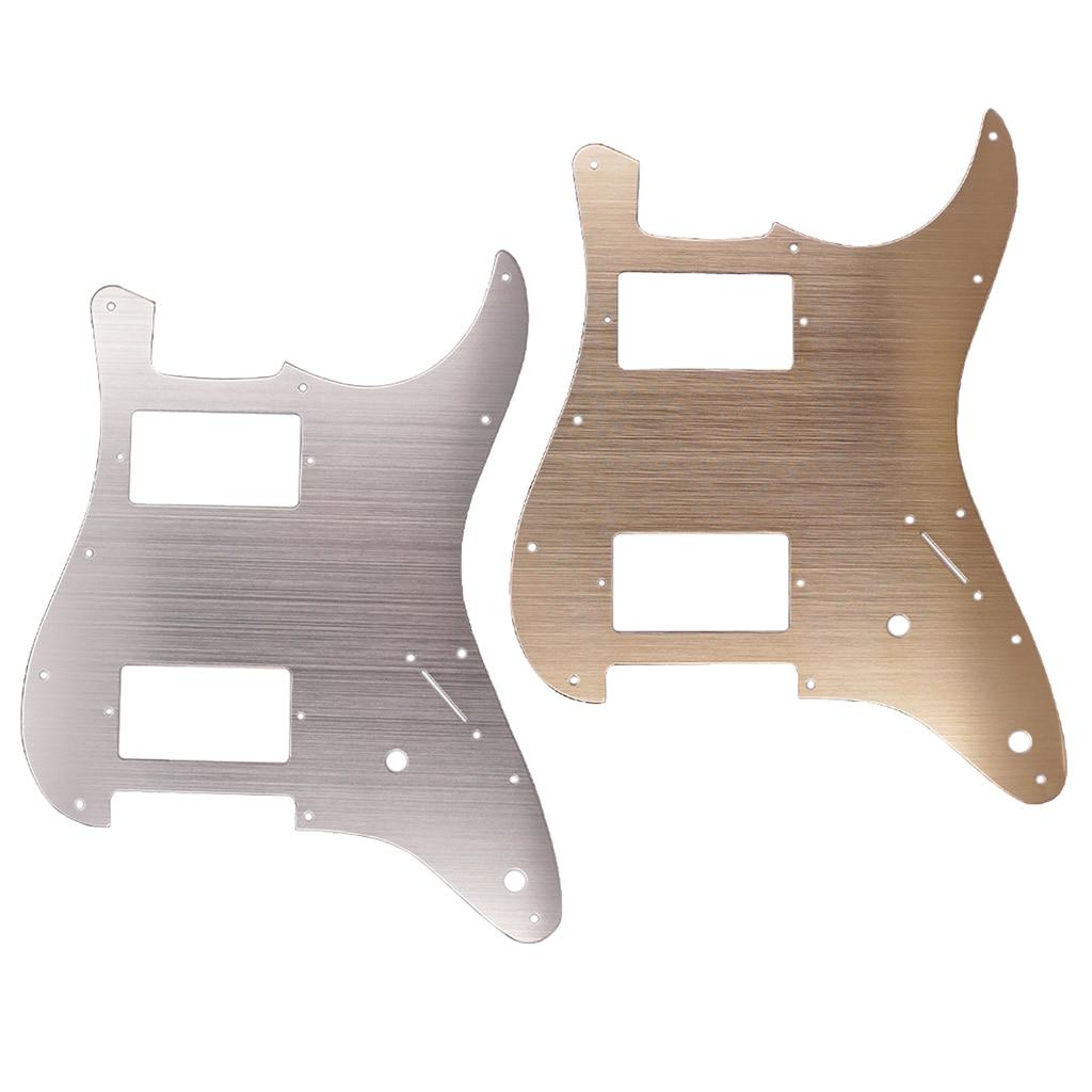 Tooyful алюминиевый сплав HH гитарная антицарапная пластина для электрогитары Strat ST аксессуар