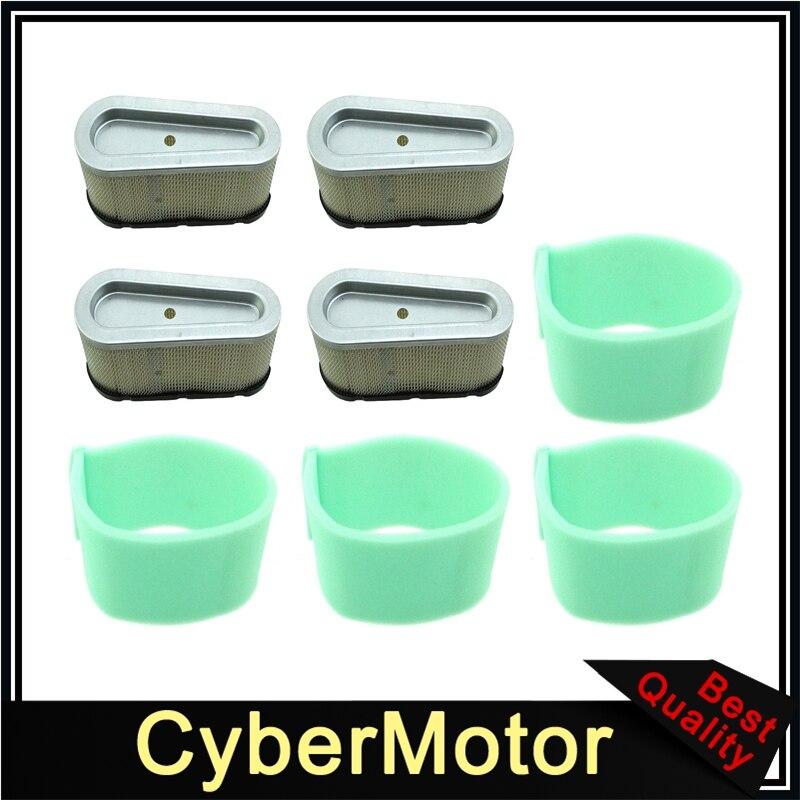 Filtro de aire para John Deere LG496894JD Briggs & Stratton 496894S 5053 5053B 5053D 28M700 28N700 28P700