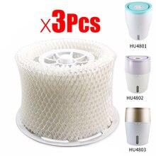 EAS-3Pcs dorigine OEM humidificateur dair pièces filtre bactéries et échelle pour Philips HU4801 HU4802 HU4803 HU4811 HU4813 humidificateur